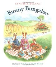Cover art for BUNNY BUNGALOW