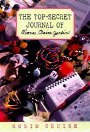 Cover art for THE TOP-SECRET JOURNAL OF FIONA CLAIRE JARDIN