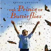 Cover art for THE PRINCE OF BUTTERFLIES