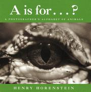 A IS FOR...? by Henry Horenstein