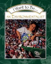 Cover art for I WANT TO BE AN ENVIRONMENTALIST