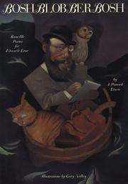 BOSHBLOBBERBOSH by J. Patrick Lewis