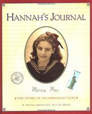 HANNAH'S JOURNAL by Marissa Moss
