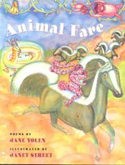 Cover art for ANIMAL FARE