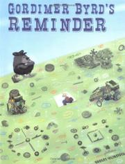 Cover art for GORDIMER BYRD'S REMINDER