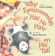Book Cover for WHY EPOSSUMONDAS HAS NO HAIR ON HIS TAIL