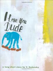 Book Cover for I LOVE YOU DUDE