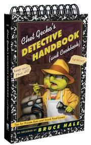 Cover art for CHET GECKO'S DETECTIVE HANDBOOK (AND COOKBOOK)