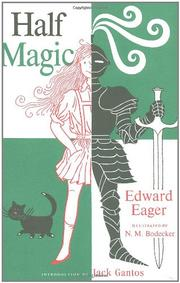 Cover art for HALF MAGIC