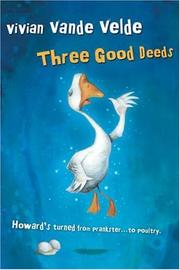Cover art for THREE GOOD DEEDS