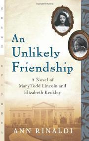 AN UNLIKELY FRIENDSHIP by Ann Rinaldi