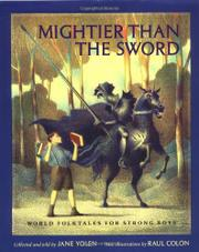 MIGHTIER THAN THE SWORD by Jane Yolen