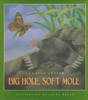 DIG HOLE, SOFT MOLE by Carolyn Lesser