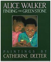 Cover art for FINDING THE GREEN STONE