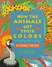 Cover art for HOW THE ANIMALS GOT THEIR COLORS