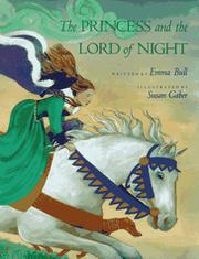 THE PRINCESS AND THE LORD OF NIGHT by Emma Bull