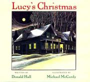 LUCY'S CHRISTMAS by Donald Hall