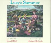 Cover art for LUCY'S SUMMER