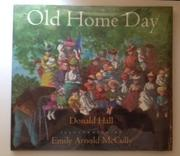Cover art for OLD HOME DAY