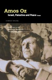 Book Cover for ISRAEL, PALESTINE AND PEACE