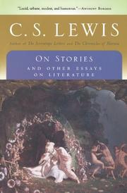 ON STORIES by C.S. Lewis