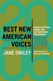 BEST NEW AMERICAN VOICES by Jane Smiley