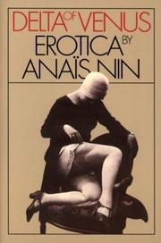 DELTA OF VENUS: Erotica by Anais Nin