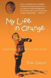 Cover art for MY LIFE IN ORANGE