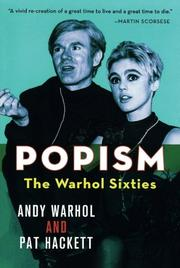 POPism: The Warhol Sixties by Andy & Pat Hackett Warhol