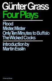FOUR PLAYS by Gunter Grass
