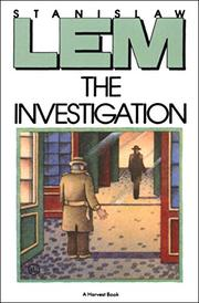 Cover art for THE INVESTIGATION