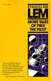 Cover art for MORE TALES OF PIRX THE PILOT
