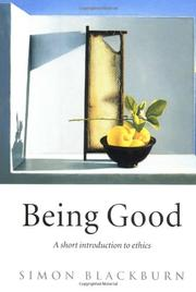 Book Cover for BEING GOOD