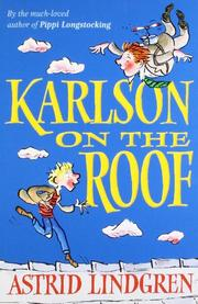 KARLSON ON THE ROOF by Astrid Lindgren