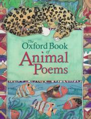 THE OXFORD BOOK OF ANIMAL POEMS by Michael Harrison