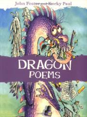 DRAGON POEMS by John--Ed. Foster