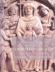 THE OXFORD DICTIONARY OF THE CHRISTIAN CHURCH by F.L.- Ed. Cross