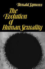 THE EVOLUTION OF HUMAN SEXUALITY by Donald Symons