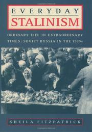 Cover art for EVERYDAY STALINISM