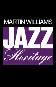 JAZZ HERITAGE by Martin Williams