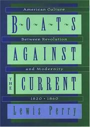BOATS AGAINST THE CURRENT by Lewis Perry