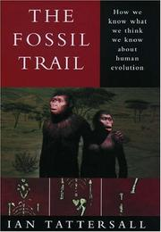 Book Cover for THE FOSSIL TRAIL