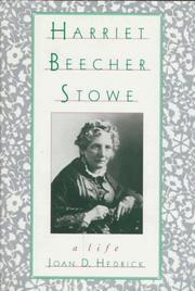 Cover art for HARRIET BEECHER STOWE