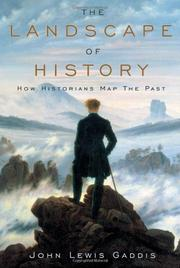 Cover art for THE LANDSCAPE OF HISTORY