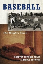 BASEBALL: The People's Game by Harold Seymour