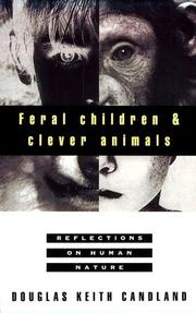 Cover art for FERAL CHILDREN AND CLEVER ANIMALS