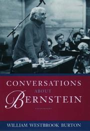 CONVERSATIONS WITH BERNSTEIN by William Burton