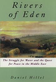 THE RIVERS OF EDEN by Daniel Hillel