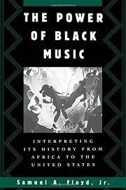 THE POWER OF BLACK MUSIC by Jr. Floyd