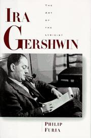 Book Cover for IRA GERSHWIN